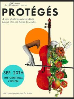 """Cypress Symphony presents """"Protégés"""""""