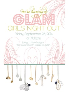 Morgan Allen Designs presents Glam Girls Night Out