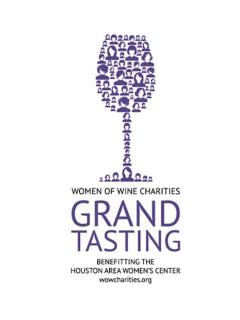 Women of Wine Charities 2014 Grand Tasting
