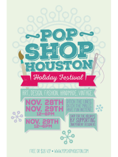 Pop Shop Houston Holiday Festival