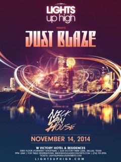 Lights Up High presents DJ Just Blaze