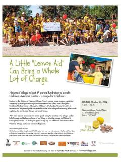Newman Village presents Lemon Aid