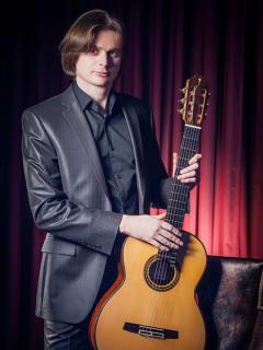 Classical Guitarist Anton Baranov