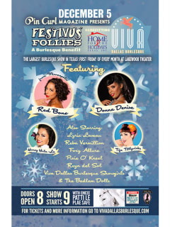 Viva Dallas Burlesque presents Festivus Follies
