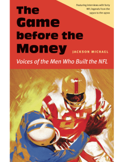 Book signing: The Game Before the Money, Voices of the Men Who Built the NFL
