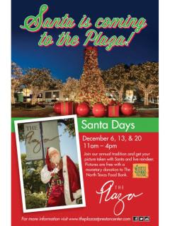 Plaza at Preston Center presents Santa Days
