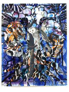 McMurtrey Gallery art opening reception: ¿Do Geese See God? by Jules Buck Jones