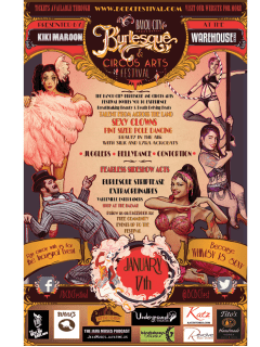 Bayou City Burlesque & Circus Arts Festival