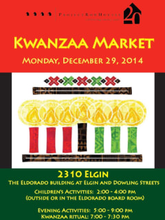 Project Row Houses' Kwanzaa Market and Talent Showcase