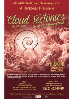 Mildred's Umbrella Theatre Company presents Cloud Tectonics