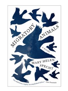 Mary Helen Specht, MIGRATORY ANIMALS