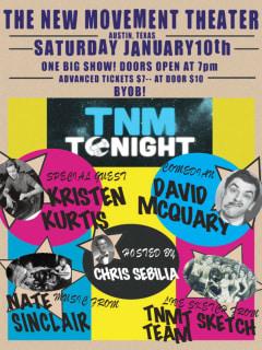 TNM Tonight_The New Movement Theater_poster_January 2015