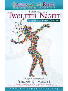 Artes de la Rosa presents Twelfth Night