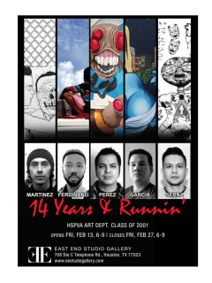 East End Studio Gallery opening reception: 14 Years and Runnin'
