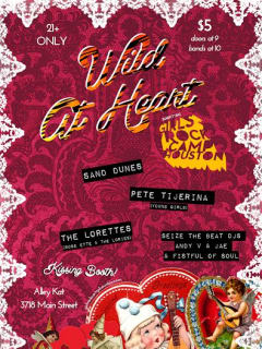 Wild at Heart Valentine's Day Bash Feb 2014
