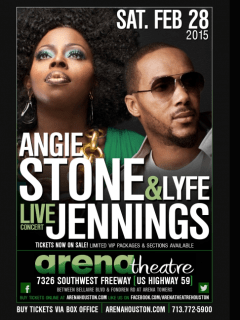 Angie Stone and Lyfe Jennings