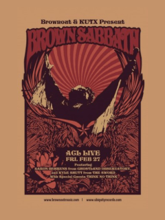 Brownout_KUTX_Brown Sabbath_poster_March 2015