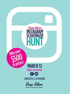 Deep Ellum Instagram Scavenger Hunt