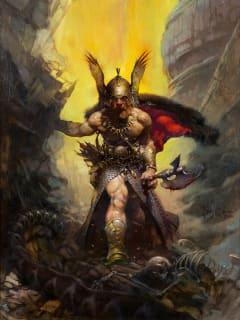 Frank Frazetta_fantasy artist_Dark Kingdom