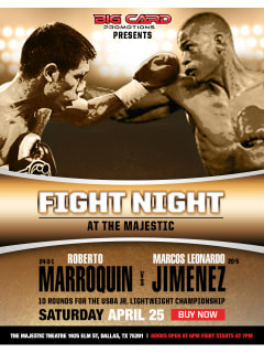 Fight Night at the Majestic