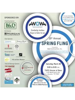 Women of Wardrobe's 10th Annual Spring Fling