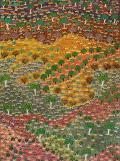 "Booker-Lowe Gallery presents ""Desert Awakening: Paintings by the Australian Aboriginal Women of Ampilatwatja"""