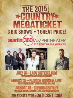 Live Nation Country Megaticket 2015