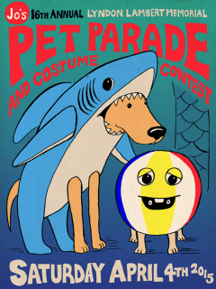Jo's Coffee Pet Parade_poster CROPPED_2015