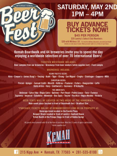 Kemah Boardwalk International Beer Festi