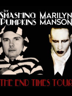 The Smashing Pumpkins and Marilyn Manson tour 2015