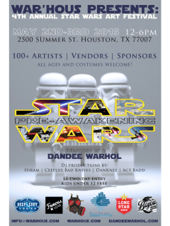 Fourth Annual Star Wars Art Festival