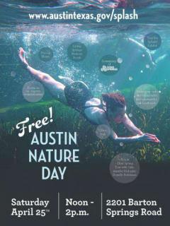 Austin Nature Day_Living Springs_Barton Springs_April 2015