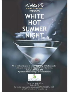 Friends of the Warren Center presents White Hot Summer Night