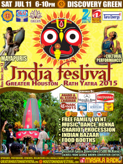 ISKCON Presents India Festival - Festival of Chariots