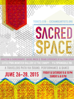 The Exchange Artists_Sacred Space_poster CROPPED_2015