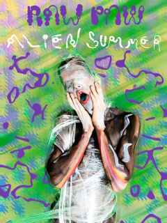 Raw Paw_Alien Summer_show poster CROPPED_2015