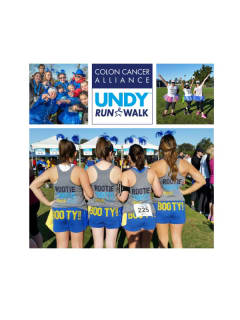 2015 Dallas-Ft. Worth Undy Run/Walk