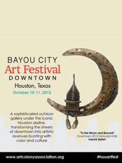 Bayou City Art Festival Downtown 2015