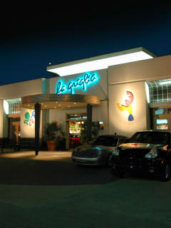 La Griglia Houston exterior at night