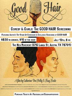 Good Hair Ent. presents Comedy & Curls: Good Hair Screening