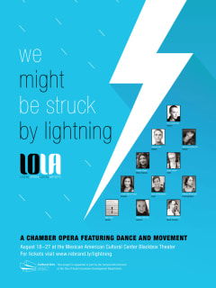Local Opera Local Artists presents <i>We Might Be Struck By Lightning</i>