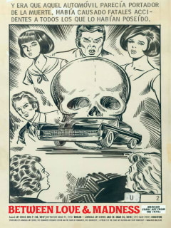 """""""Between Love & Madness: Mexican Comic Art from the 1970s"""" opening reception"""
