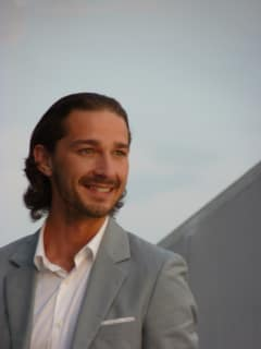 Shia LaBeouf at Cannes