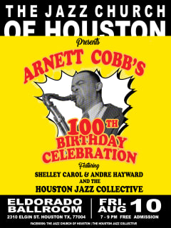 Arnett Cobb's 100th Birthday Celebration