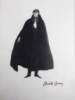 """DRACULA! Inspirations by Edward Gorey"" opening day"