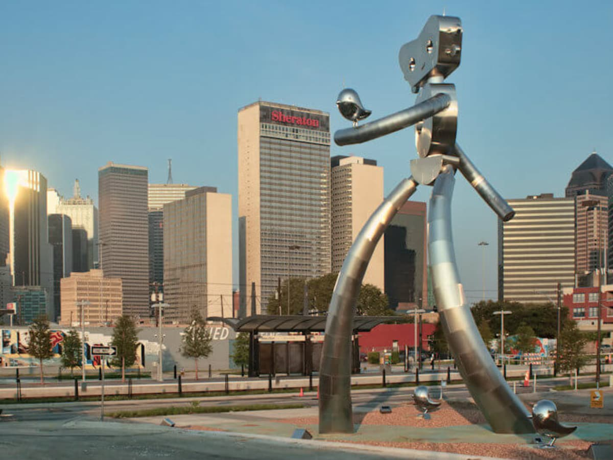 Deep Ellum historic district in Dallas