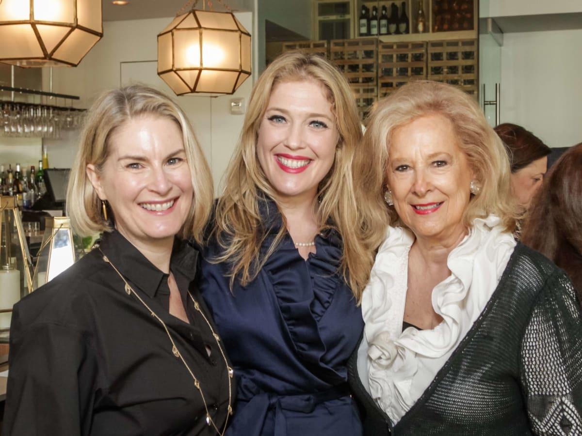 Ellevate Network breakfast 6/16 Amy Hertz, Jennifer Roosth, Mary Ann McKeithan