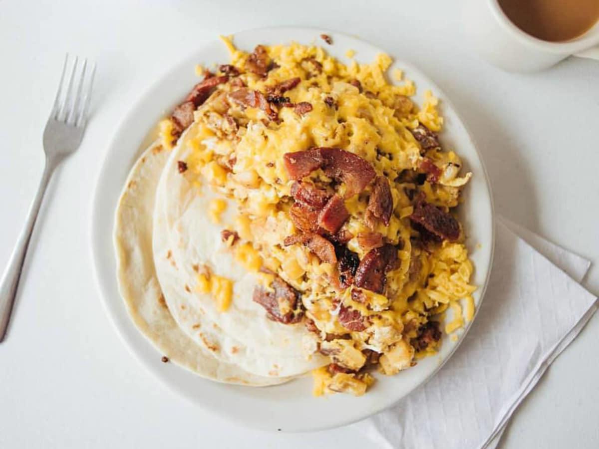 Juan in a Million breakfast taco Don Juan
