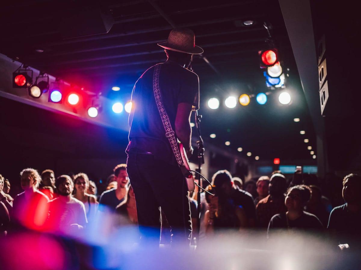 Gary Clark Jr. Antone's show stage