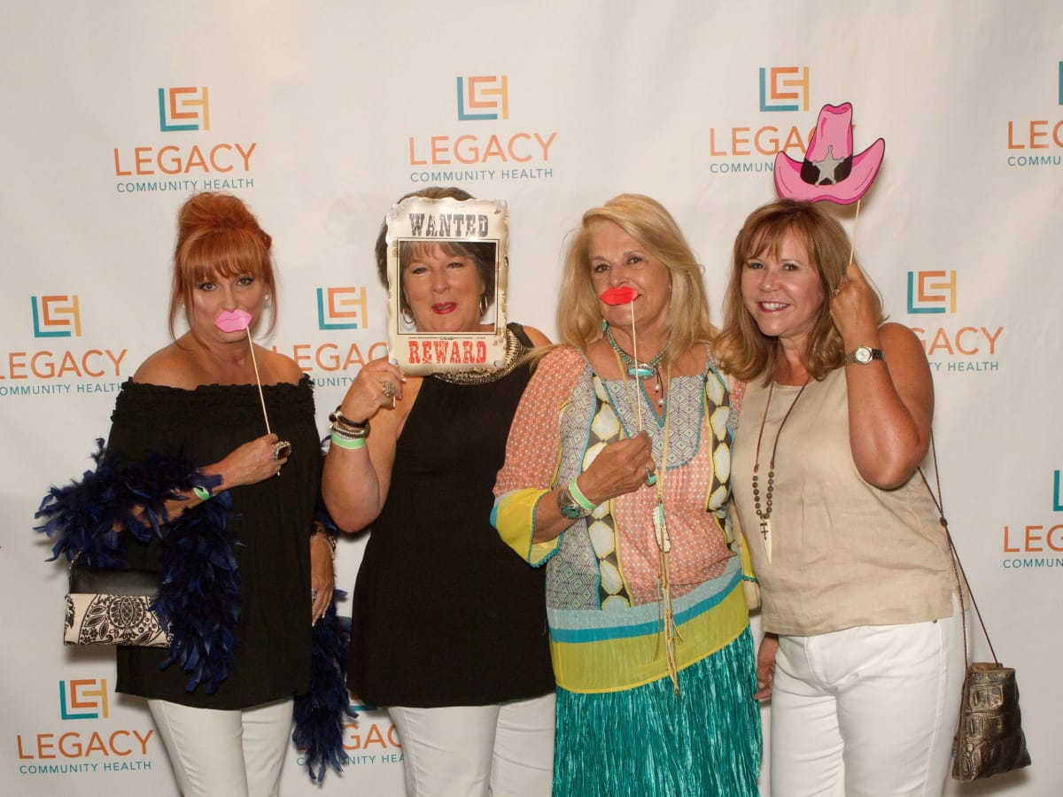 Legacy Mint Julep, July 2016, Sylvia Highfield, Margie Krause, Cookie Michaels, Cyndy Garza Roberts